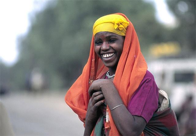 Africa    Smiling Oromo woman. Ethiopia    © Roger Blum