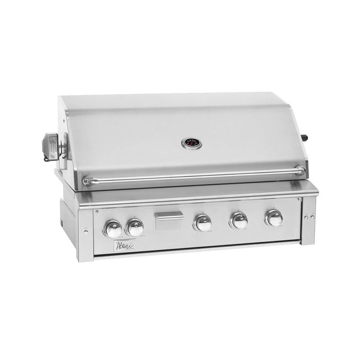 Summerset Alturi Series Built-In Gas Grill with Red Brass Burner 42-Inch Natur