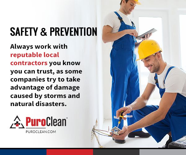Safety U0026 Prevention: Always Work With Reputable Local Contractors You Know  You Can Trust.