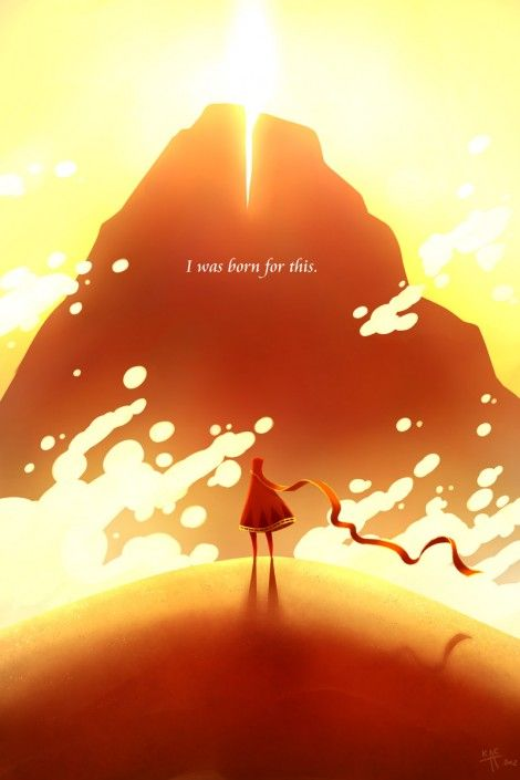 The game of the moment is PS3-exclusive Journey, thatgamecompany's beautiful adventure that's inspiring some fans so much, they're committing art.
