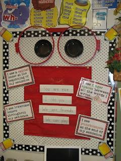 Mrs. Phippen: Writer's Eye Bulletin Board Set