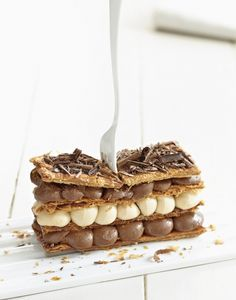 Chocolate Coffee Millefeuille ❥