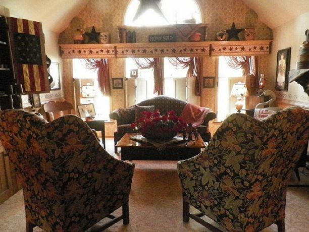 100 best primitive living rooms images on Pinterest Primitive