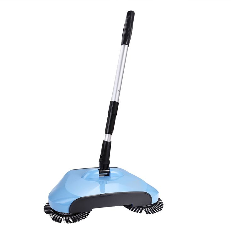 Cordless Hand Push Broom Household Sweeper