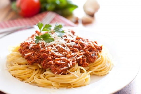 Spaghetti with Meat Sauce like the Old Spaghetti Factory-tried it, mediocre
