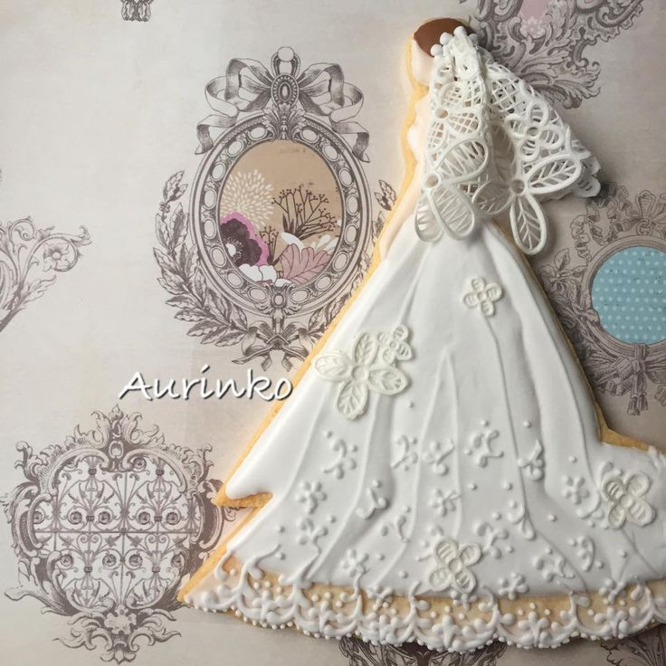 "Cookie Bride Blessings~""Hattie The Gluten Free Farm Girl""~~~Backstyle of a Bride"