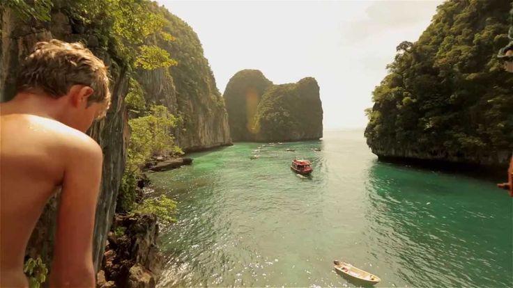 Koh Phi Phi, Maya Bay, Thailand where they filmed The ...