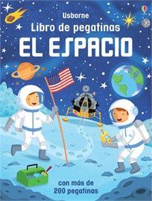 Un divertido libro de pegatinas con el que disfrutar de una gran aventura espacial, imprescindible para todos aquellos amantes del espacio. Además, cada página cuenta con información muy interesante acerca del espacio: cómo se utilizan los satélites, cómo viven los astronautas en la Estación Espacial Internacional, etc.