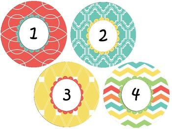 17 best ideas about Number Labels on Pinterest | Teacher ...