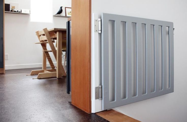 grey-wooden-diy-baby-gates-for-stairs