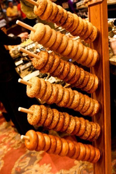 bagel display (via katheats)
