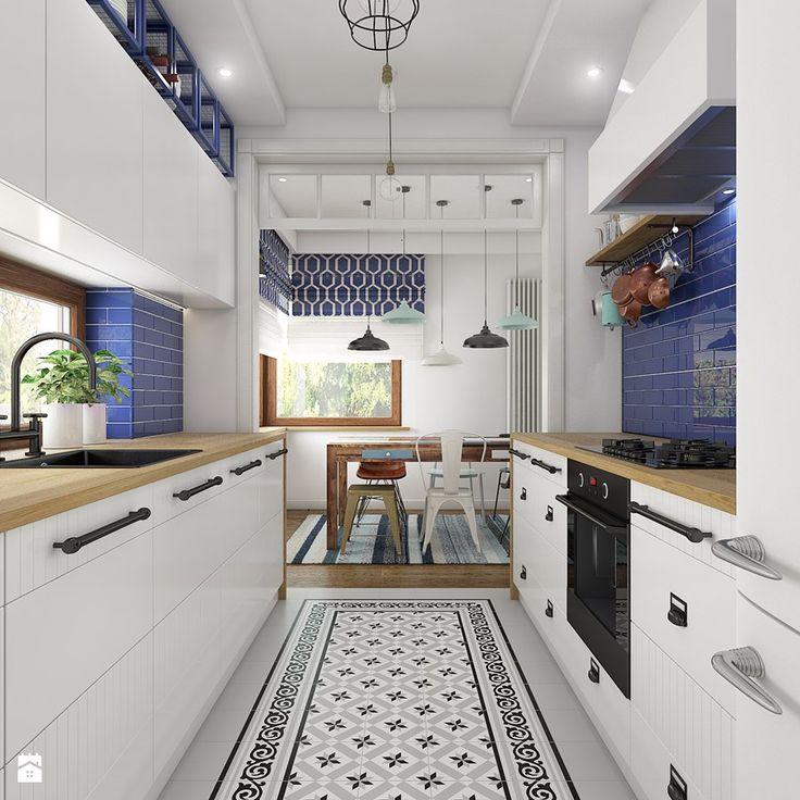 Z indygo w tle - Kuchnia - zdjęcie od WERDHOME