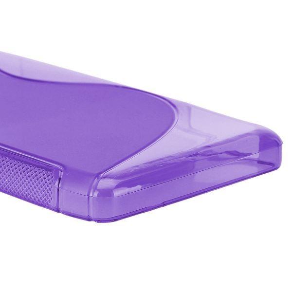 S-Line Transparent (Lilla) Motorola DROID RAZR MAXX HD Deksel