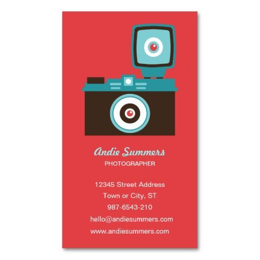 303 best photographer business cards images on pinterest fun colorful diana lomo camera photographer business card colourmoves