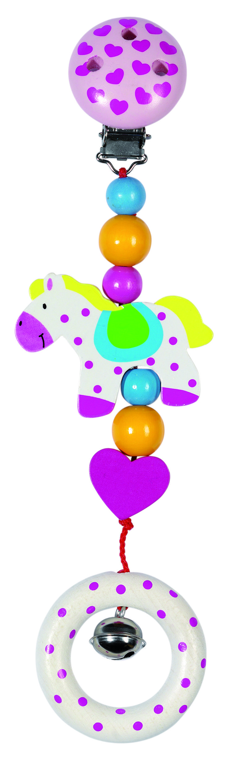 Heimess Clip On Toy - Horse