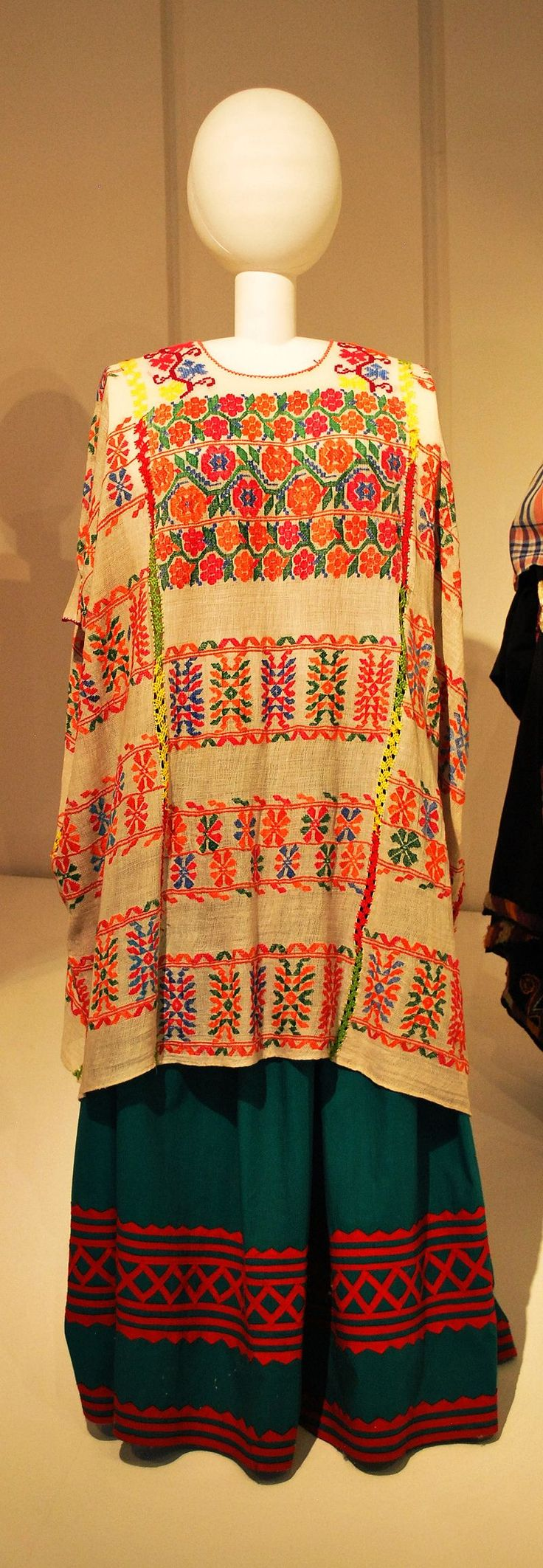 Museo de Arte Popular, Mexico City Picture Gallery -Example of Traditional Oaxaca Dress