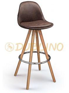 DL POLY UP BS - barová židle
