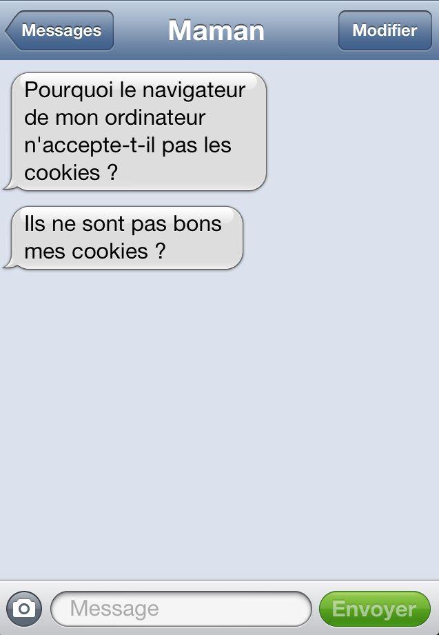 Avec Maman: les cookies !