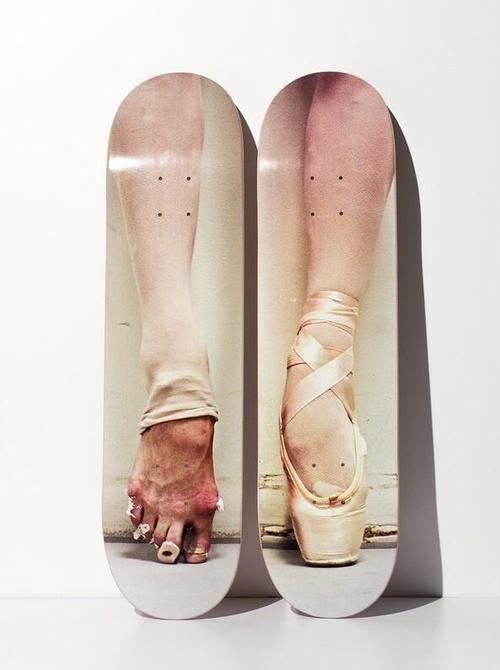 stunning limited edition Henry Leutwyler decks featuring balletic images.