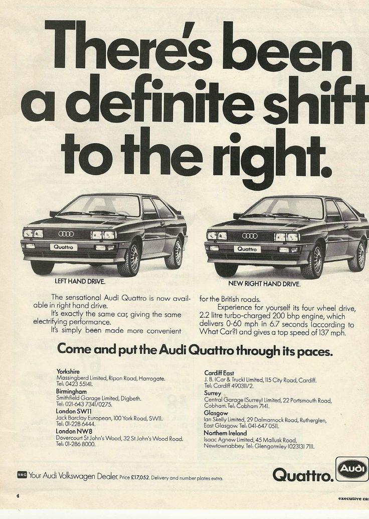 175 best Audi Quattro images on Pinterest | Audi quattro, Cars and ...