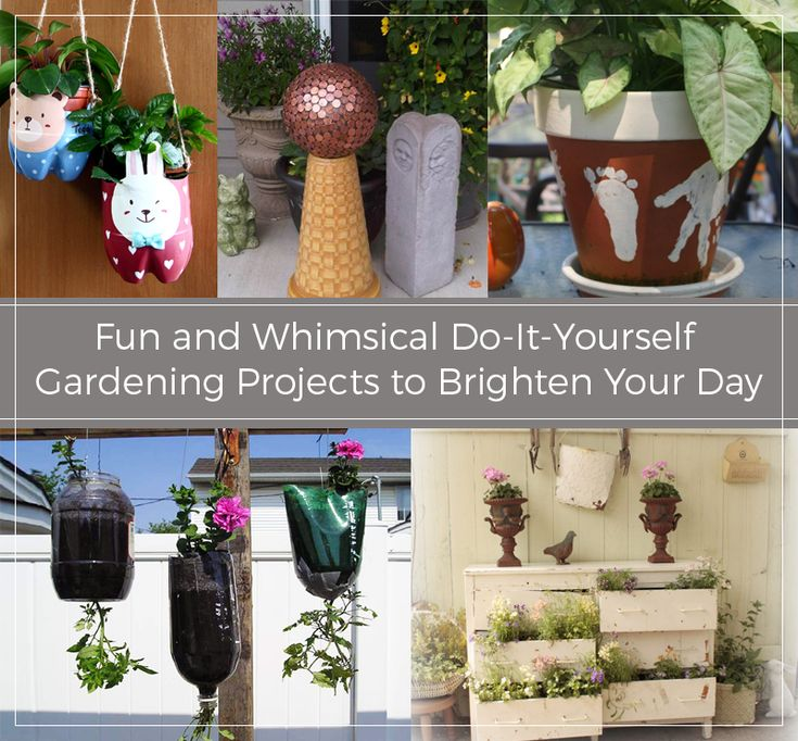 Do It Yourself Project: 309 Best Gardening DIY & Crafts Images On Pinterest