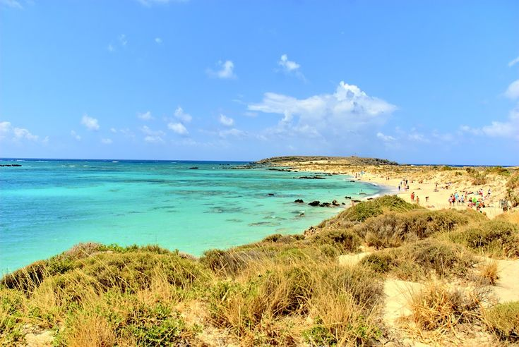 Elafonisi Beach, Kreta, Grekland  #Greece #Grekland #Crete #Kreta #Beach #Strand #paradis #paradise #vacker #beautiful #vacation #semester #ocean #hav #Elafonissi #Elafonisi #ElafonissiBeach #island #ö #mediterranean #medelhavet #Maldives #Of #Crete