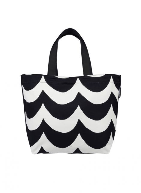 Kaisla-laukku (luonnonvalkoinen, musta) |Laukut, Kassit, Laukut & asusteet | Marimekko