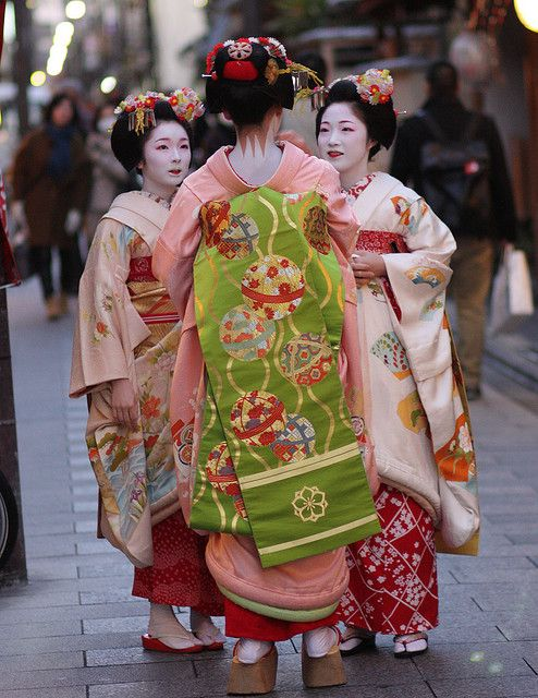geisha: Toshimana, Fukusato and Toshikana