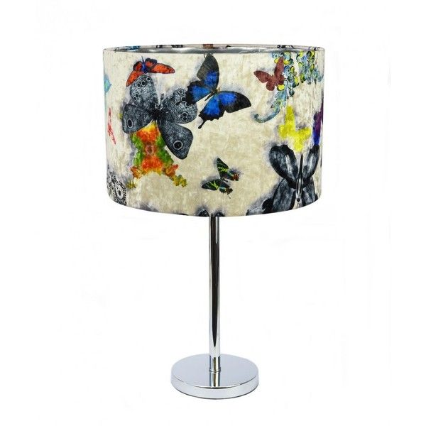Butterfly Table Lamp ($1,460) ❤ liked on Polyvore featuring home, lighting, table lamps, butterfly light, butterfly table lamp, butterfly lamp and butterfly lights