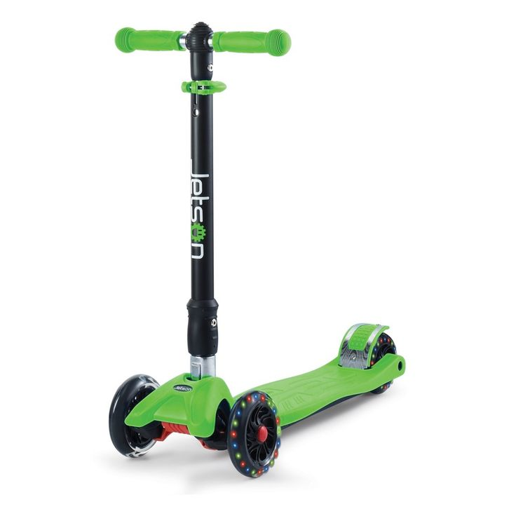 Jetson Twin Wheel Kick Scooter - Green