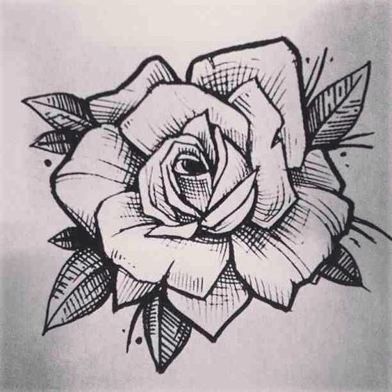 Resultado De Imagen Para Rosas Bocetos Tatuajes Boceto De Rosa Tatuajes De Arte Corporal Dibujos
