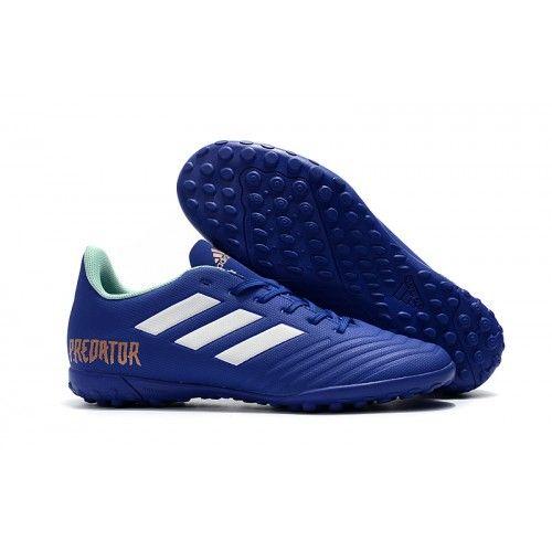 competitive price 7cc7a 08cc0 Comprar Botas de futbol Adidas Predator Tango 18.4 TF Azul Blanco