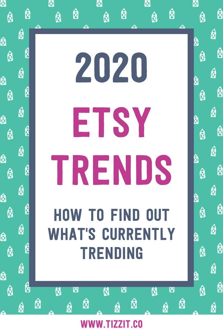 How To Find And Research Handmade Shop Trends What To Sell On