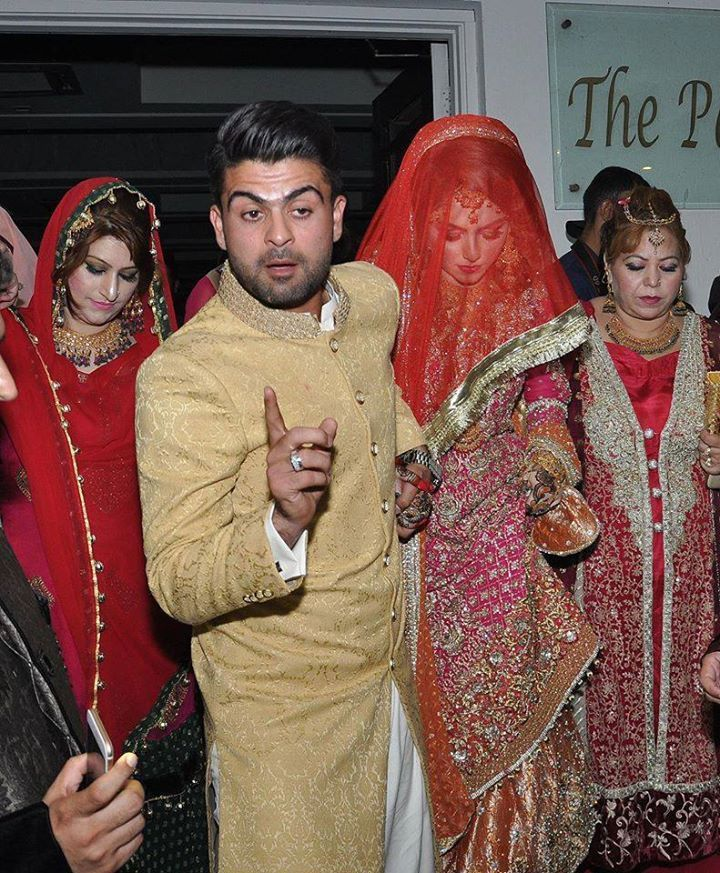 Stani Cricketer Ahmed Shehzad Wedding Pictures And Videos With Wife Sana Murad
