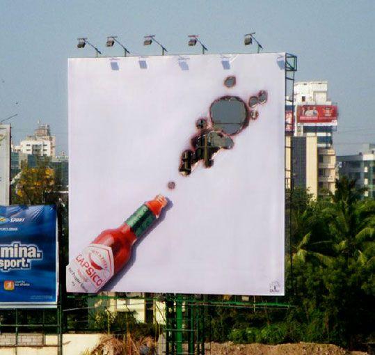Capisco Hot Sauce  Agência: Inter Publicity Mumbai  País: Índia  Ano: 2011