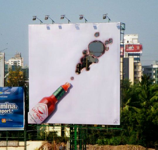 Anúncio publicitário bastante criativo!!!