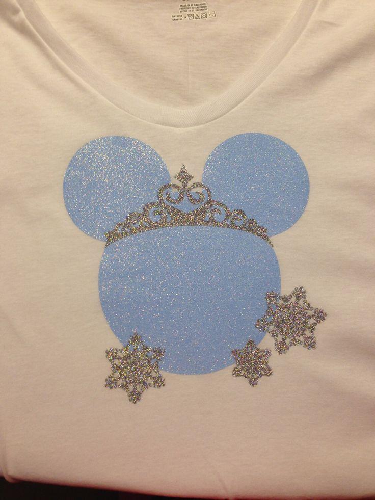 Elsa Inspired Mickey Minnie Mouse Head Disney T-Shirt, Disney Frozen Inspired Shirt, Vacation Glitter Womens regular and plus size by GlitzyPixi on Etsy https://www.etsy.com/listing/232569900/elsa-inspired-mickey-minnie-mouse-head