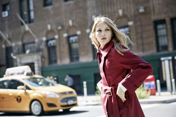 LOOKAST CHAPTER #5 - 2014 fall winter in New York _ red trench coat