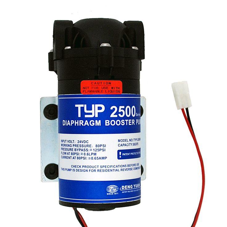 24 V 50gpd RO Water Booster Pump 2500NH Meningkatkan Sistem Reverse Osmosis Air Tekanan