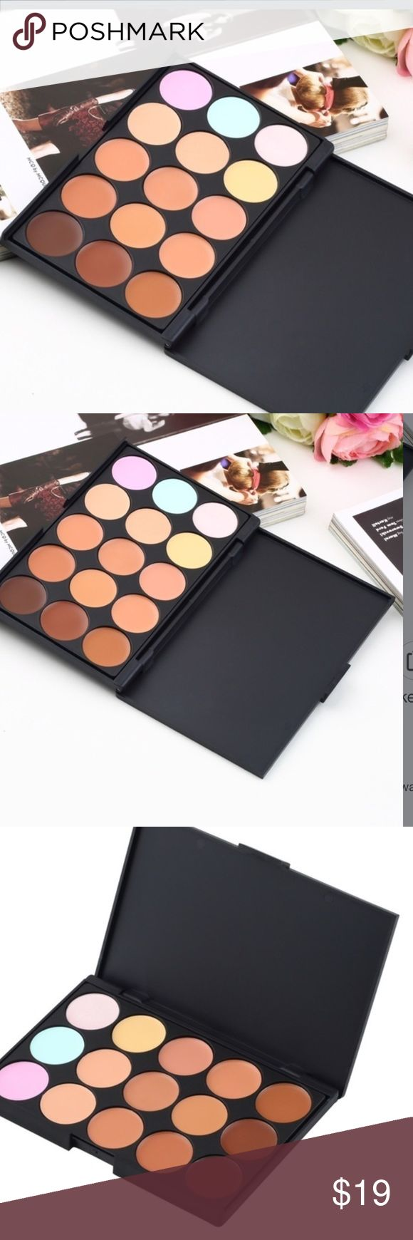Camouflage a Makeup This is so many colors/pastels that will make you look better! They actually change the color of your skin. 🎀🎀 Boutique Makeup Face Powder