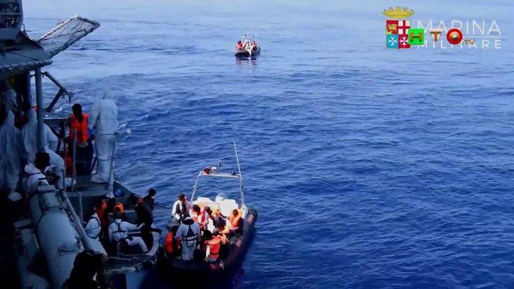 MARINA MILITARE - SAR 31 Luglio Nave Grecale Soccorsi ai Migranti - www....