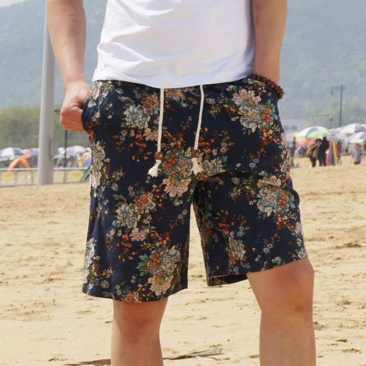 $31 • Men's Summer Casual Beach Cotton Shorts