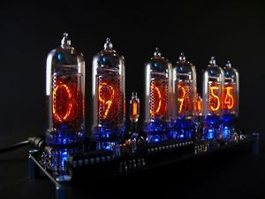 IN-14 Nixie Tube Clock KIT DIY. No Tube.