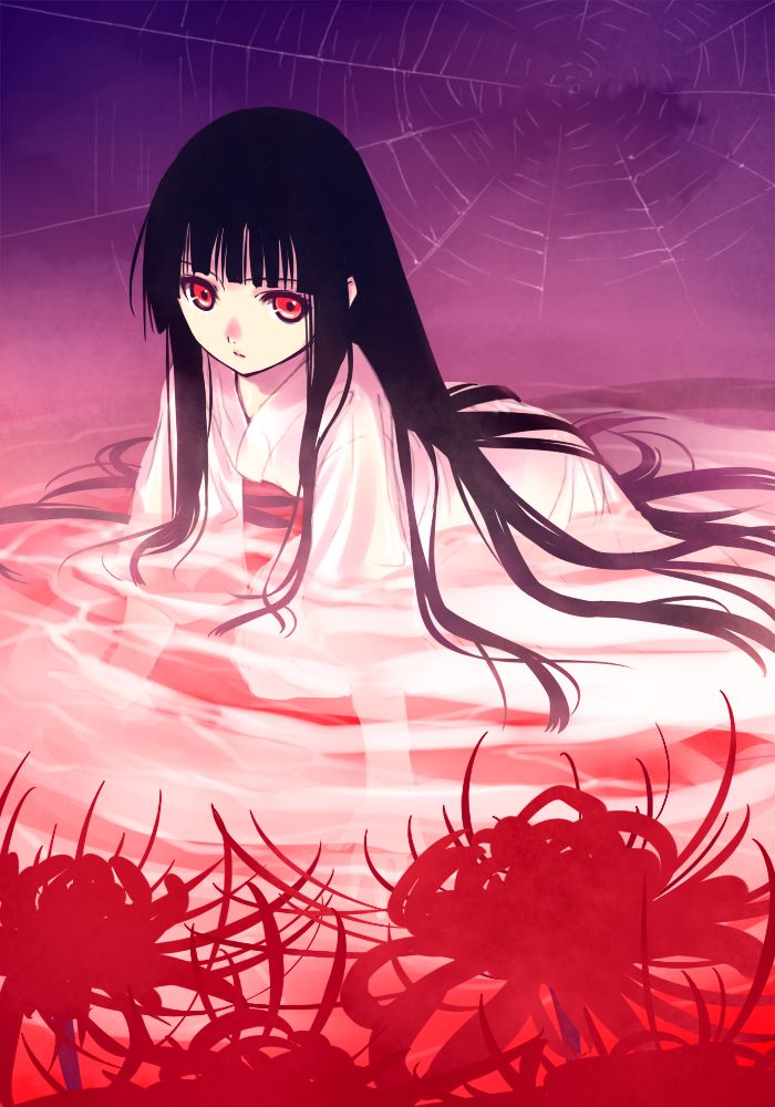 Tags: Anime, Jigoku Shoujo, Enma Ai