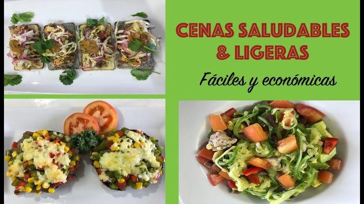 Cenas saludables f ciles y econ micas cocina de addy en for Cenas faciles y economicas