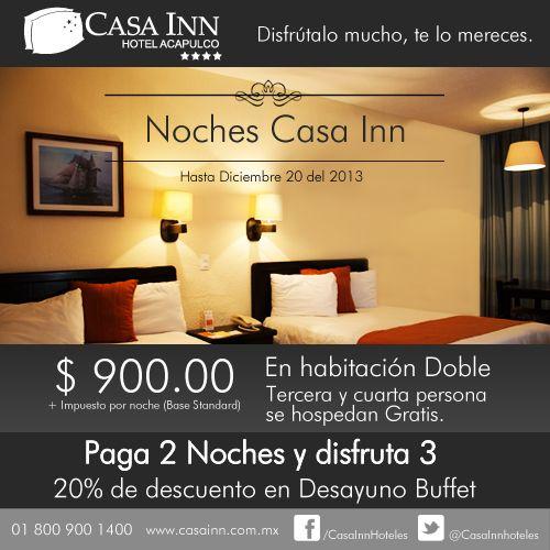 En Hotel Casa Inn Acapulco.