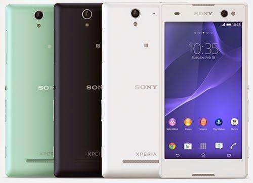 Sony Xperia C3, Smartphone Selfie Terbaik