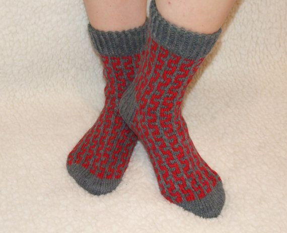 Ready to ship Socks handmade Winter accessories by LadyLigaShop