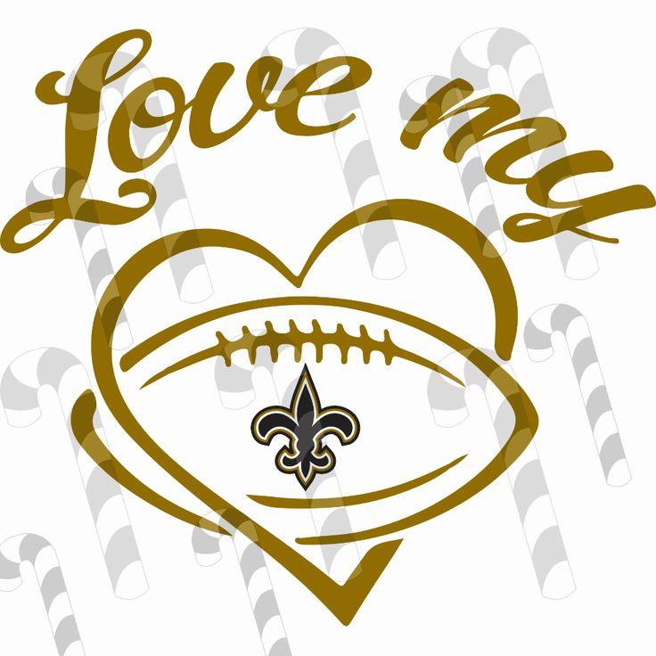 Download Love my New Orleans Saints,New Orleans Saints svg ...
