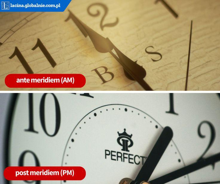 Skąd się wzięły skróty AM i PM? :) #łacina #pm #am #postmeridiem #antemeridiem #przedpołudnie #popołudnie #czas #zegar #zegarek #godziny